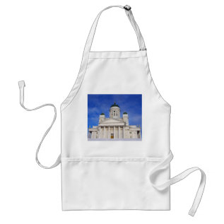Helsinki Cathedral Tuomiokirkko Crafts Cook Chef Adult Apron at Zazzle