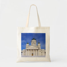 Helsinki Cathedral Tuomiokirkko Crafts & Shopping Tote Bag at Zazzle