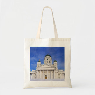 Helsinki Cathedral Tuomiokirkko Crafts & Shopping Tote Bag