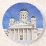 Helsinki Cathedral Tuomiokirkko Drinks Coaster