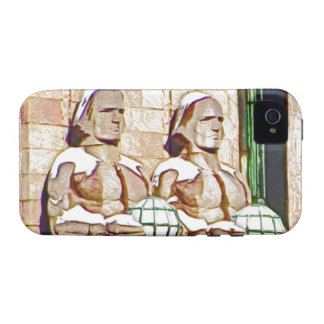 Helsinki Central Railway Station Vibe iPhone 4 Covers