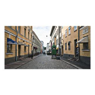 Helsinki city street card