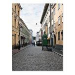 Helsinki city street post cards