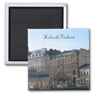 Helsinki Finland 2 Inch Square Magnet