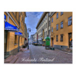 Helsinki Finland City Scene Postcard