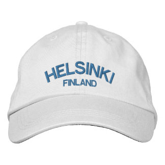 Helsinki Finland Classic Adjustable Hat Embroidered Hats