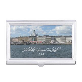 HELSINKI Finland custom business card holder