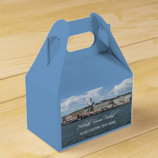 HELSINKI Finland custom favor box