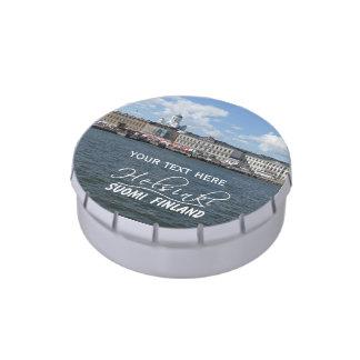 HELSINKI Finland custom tins & jars Jelly Belly Tin