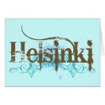 Helsinki Finland Greeting Card
