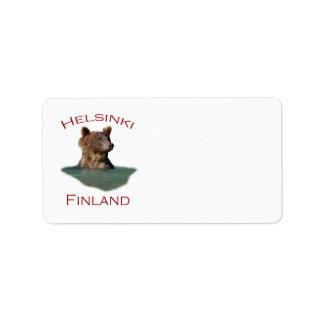Helsinki, Finland Label