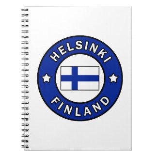 Helsinki Finland Notebook
