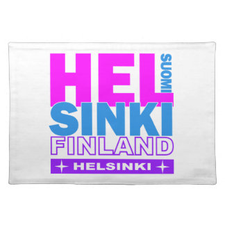 HELSINKI Finland placemats