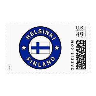 Helsinki Finland Postage Stamp