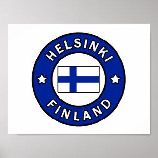 Helsinki Finland Poster