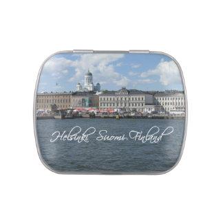 HELSINKI Finland tins & jars Jelly Belly Tin