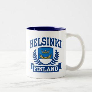 Helsinki Finland Two-Tone Coffee Mug
