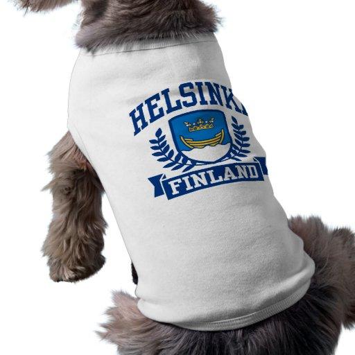 Helsinki Finlandia Camisa De Mascota