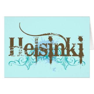 Helsinki Finlandia Tarjeta
