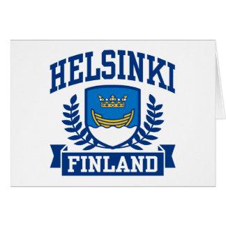 Helsinki Finlandia Tarjeta De Felicitación