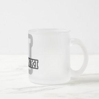 Helsinki Frosted Glass Coffee Mug