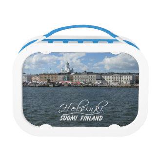 Helsinki Harbor custom lunch boxes