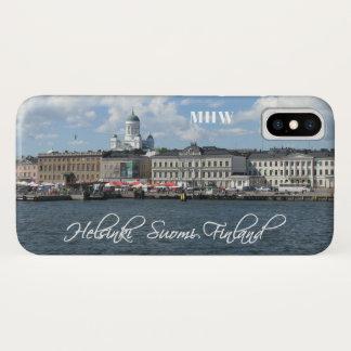 Helsinki Harbor custom monogram phone cases