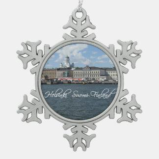 Helsinki Harbor custom ornament
