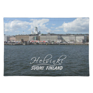 Helsinki Harbor custom placemat