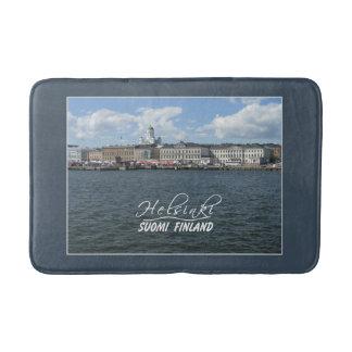 Helsinki Harbor Finland bath mat