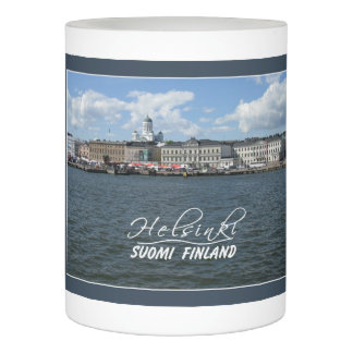 Helsinki Harbor Finland LED candle