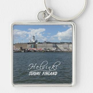 Helsinki Harbor large premium key chain