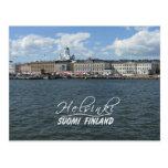 Helsinki Harbor postcard, customize