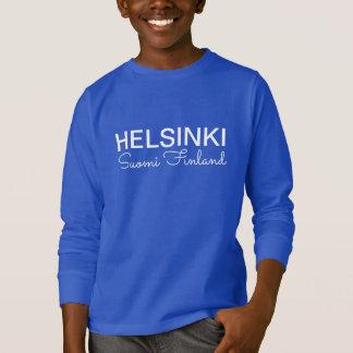 Helsinki Metro Scroll custom clothing T-Shirt