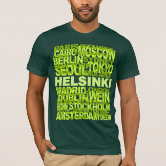 HELSINKI & other cities shirt - choose style & col