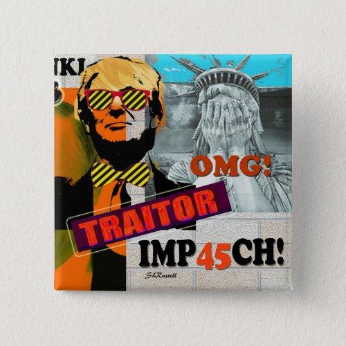 Helsinki SummitTrumpPutin Treason collage art pin