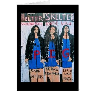 HELTER SKELTER CARD