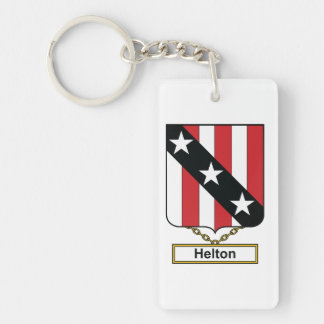 Helton Family Crest Keychain