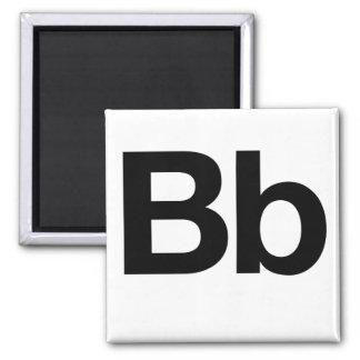 Helvetica Bb Magnet