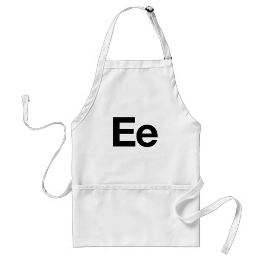 Helvetica Ee Adult Apron