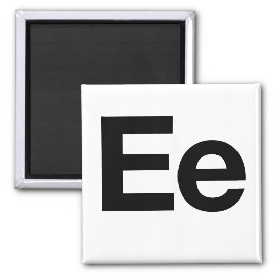 Helvetica Ee Magnet