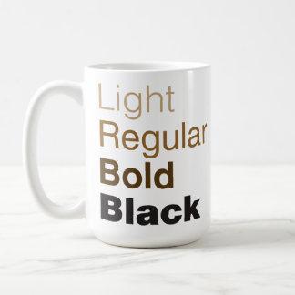 Helvetica Family Coffee Mug