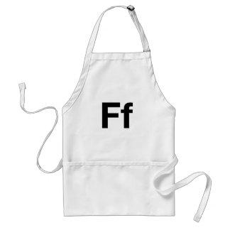 Helvetica Ff Adult Apron