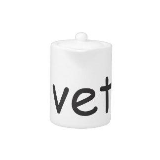 Helvetica in Comic Sans teapot