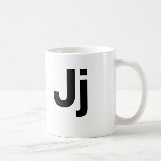 Helvetica Jj Coffee Mug