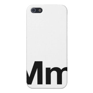 Helvetica Mm iPhone SE/5/5s Cover