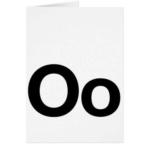 Helvetica Oo Card