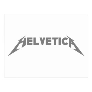 Helvetica Postcard