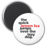 helvetica-quickbrownfox.ai refrigerator magnets