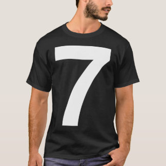 Helvetica Seven for Darks T-Shirt